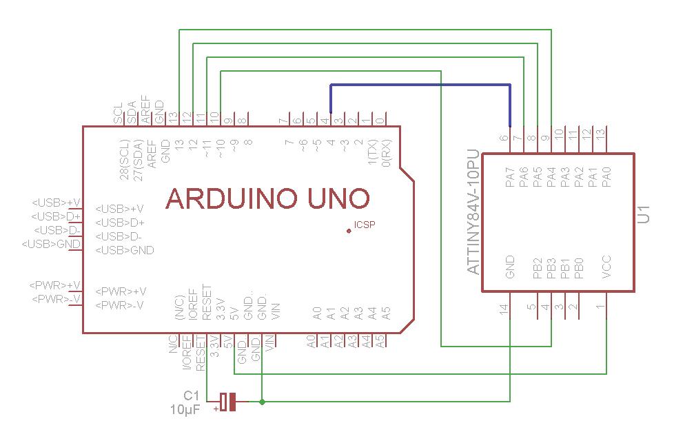 Serial Monitor als Debughilfe für den ATtiny85 und andere ATMEL ...