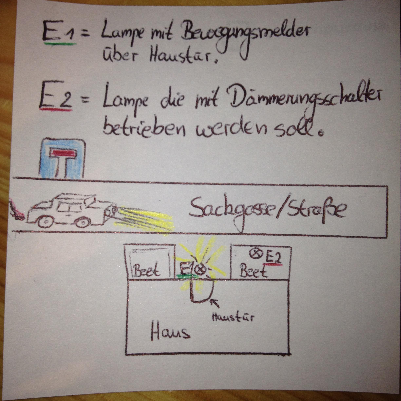attachment Elegantes Steiner Lampen Mit Bewegungsmelder Dekorationen